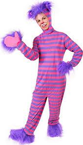 Halloween Costumes Chester Amazon U0027s Alice Wonderland Cheshire Cat Costume Clothing