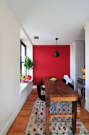 red accent wall bedroom home design ideas