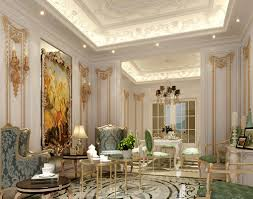 elegant and romantic interior romancing the home a guide to classic french luxury interior design with big painting and luxury classic wall idea with textured wing chair