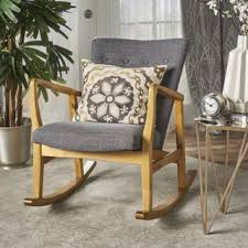 Mid Century Modern Rocking Chair Mid Century Living Room Chairs Shop The Best Deals For Dec 2017