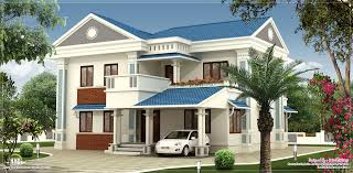 2000 sq feet beautiful villa elevation design kerala home design
