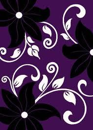 Purple Carpets Purple And Black Rug Roselawnlutheran