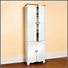 White Corner Storage Cabinet by Tall Wood Corner Storage Cabinet Cabinet Home Decorating Ideas