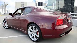 red maserati spyder 2013 2003 maserati coupe gt tubi exhaust youtube