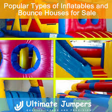 popular types of inflatables and bounce houses for sale ultimate