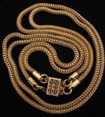 golden rope necklace images Golden rope necklace dragon age la necklace jpg