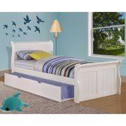 White Sleigh Bed Twin Sized Sleigh Bed