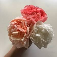 how to make colorful coffee filter flowers create laugh learn