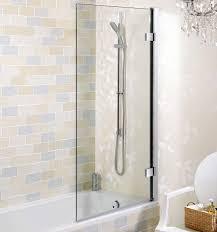simpsons elite hinged bath screen uk bathrooms
