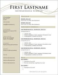 free basic resume exles free exles pertamini co