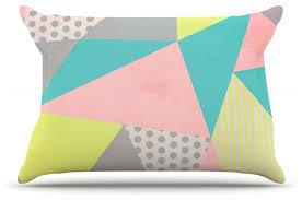 louise machado geometric pastel pillow scandinavian