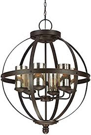 Seagull Chandelier Seagull 3110406 715 Six Light Chandelier Amazon Com