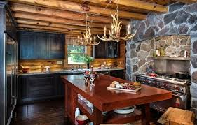 black kitchen cabinets in log cabin log cabin furniture ideas how to choose the right pieces