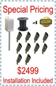 outdoor low voltage landscape lighting kits landscaping lighting kits low voltage outdoor spot fixtures
