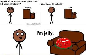 Jelly Meme - the most popular lottery memes