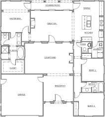 courtyard homes house plans with courtyard homes for alluring floor corglife
