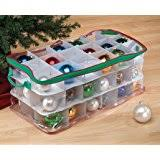 iris wing lid storage box with ornament divider