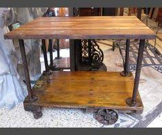 diy industrial kitchen island or cart or whatever visit u0026 like our