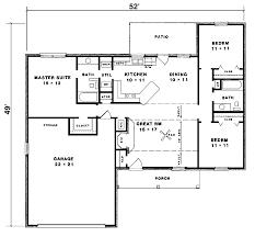 30 unique simple ranch house plan simple 4 bedroom ranch house