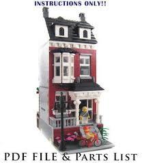 lego house tutorial guitar easy lego custom house ebay