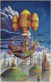 317 best b randy spangler images on pinterest dragon art randal spangler hot air balloons
