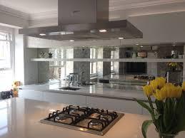 Mirrored Backsplash In Kitchen Mirror Tile Mirrored Backsplash Kitchen For The Home Hd In