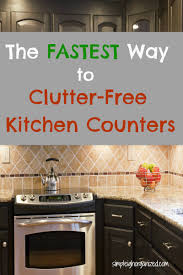 5 simple ways to keep your kitchen counters clutter free