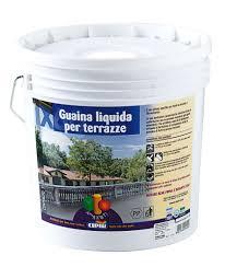 guaina trasparente per terrazzi guaina liquida cipir grigio perla 5 lt per cemento e fibrocemento