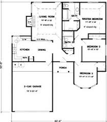 House Plans 1200 Square Feet This Average 1200 Square Foot House Plan For The Late 50s And