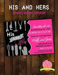couples wedding shower invitations his and hers wedding shower invitations kac40 info