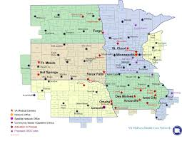 Nebraska State Map by Visn Structure Va Nebraska Western Iowa Health Care System