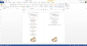 thanksgiving for two menu best free thanksgiving templates for microsoft office