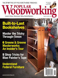 august 2008 170 popular woodworking magazine