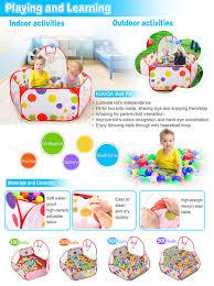 amazon com kuuqa kids ball pit ball tent toddler ball pit with