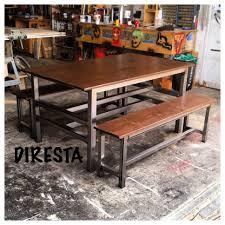 diresta matt makes a modern steel pine table youtube