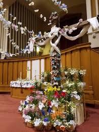 Easter Sunday Decorations easter sunday cross decorations fumc fort dodge pinterest