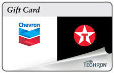 chevrontexaco gas gift card for only mail delivery ebay