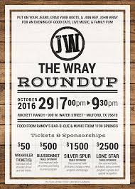 wray round up 2016 tickets sat oct 29 2016 at 7 00 pm eventbrite