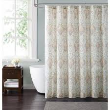 Brown And Ivory Curtains Style 212 Cambridge 72 In Ivory And Gold Shower Curtain Sc1899iv