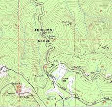Map Of Yosemite Tuolumne Grove Wikipedia