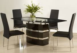 Glass And Wood Dining Tables Dining Room Contemporary Dining Table Designs In Wood And Glass