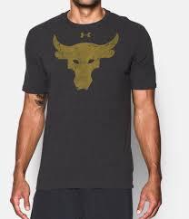 Black Flag Everything Went Black T Shirt Men U0027s Ua X Project Rock Brahma Bull T Shirt Under Armour Us