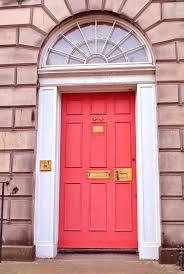 front doors paint color front door red brick house image of