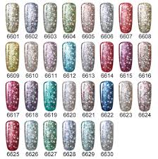 super bling gel nail polish pure soak off uv led starry gel polish