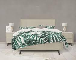 tropical bedding etsy