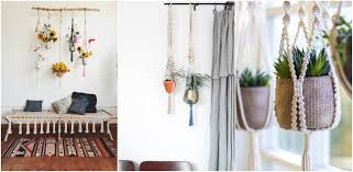 how to decorate with macramé gohaus