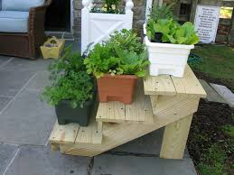 Herb Garden Planter Ideas by Plant Stand Modern Herb Garden Planter And Stand Plant