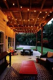 Patio Ideas For Small Backyards Best 25 Patio String Lights Ideas On Pinterest Patio Lighting
