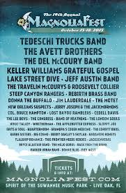 Spirit Of The Suwannee Christmas Lights Magnolia Fest 2015 The Avett Brothers And Tedeschi Trucks Band