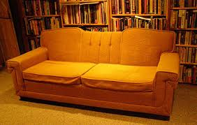 Orange Sofa Chair 16 Awesome Vintage Sofas From Readers U0027 Houses Retro Renovation